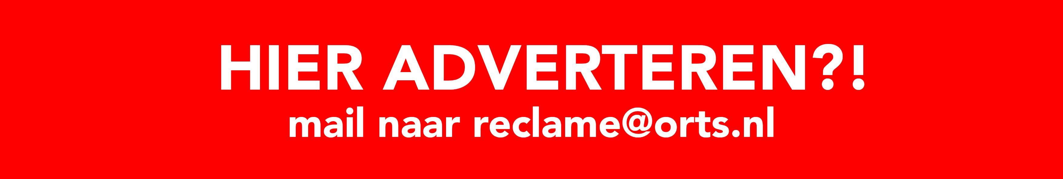 HIER ADVERTEREN